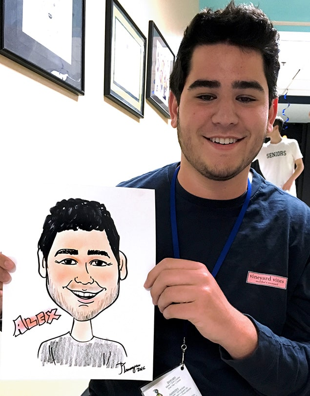 Caricature Drawing Artist for Party Entertainment New Haven