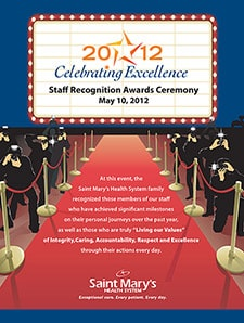 Staff Recognition Flyer